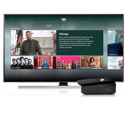 Tv-boksen fra YouSee Tv til tv i flere rum