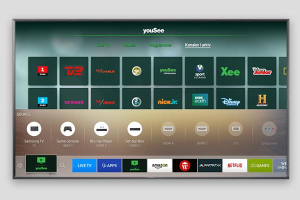 Se YouSee tv på dit Smart tv