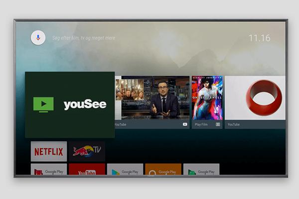 Se YouSee tv på dit Android tv