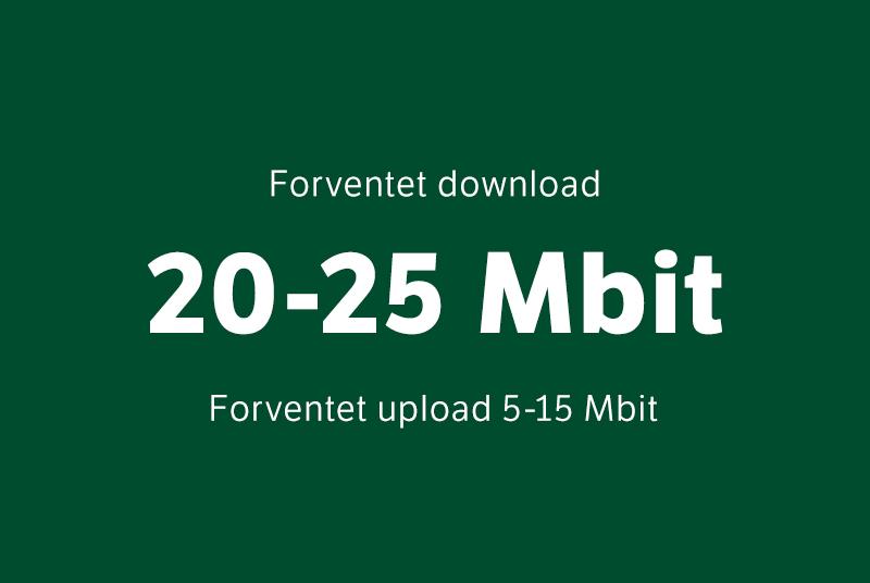 20-25 Mbit