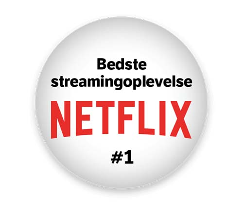 Danmarks førende internetudbyder til streaming af Netflix