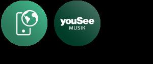 Roaming World, YouSee Musik
