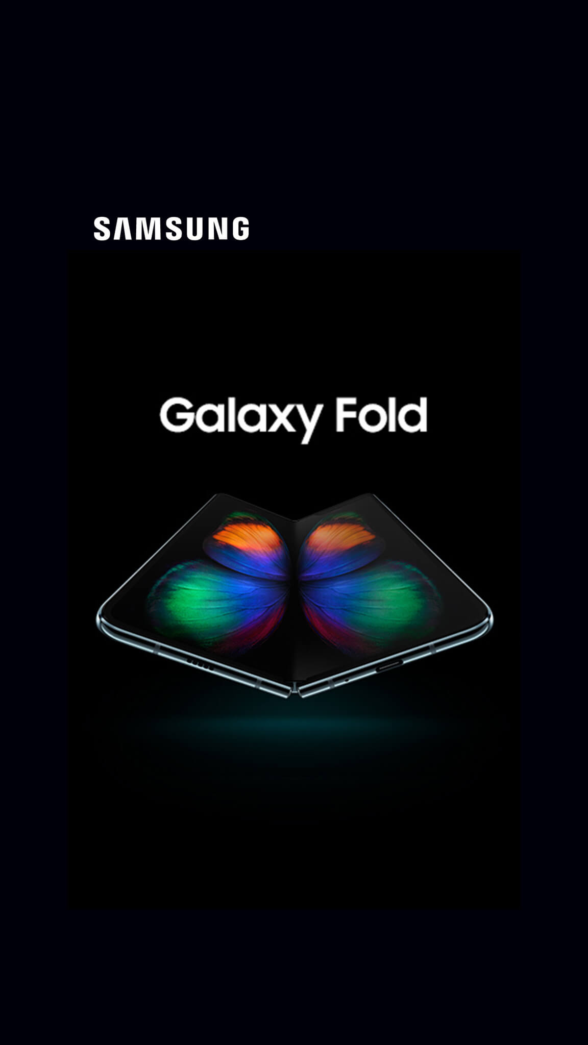 The future unfolds. Samsung Galaxy Fold