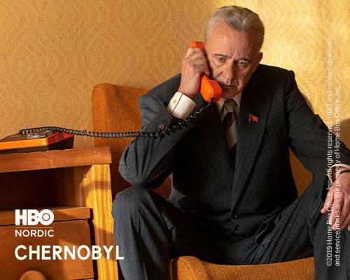 Se Chernobyl på HBO
