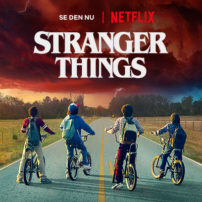 Se Stranger Things på Netflix