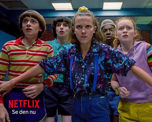Se Stranger Things med Netflix