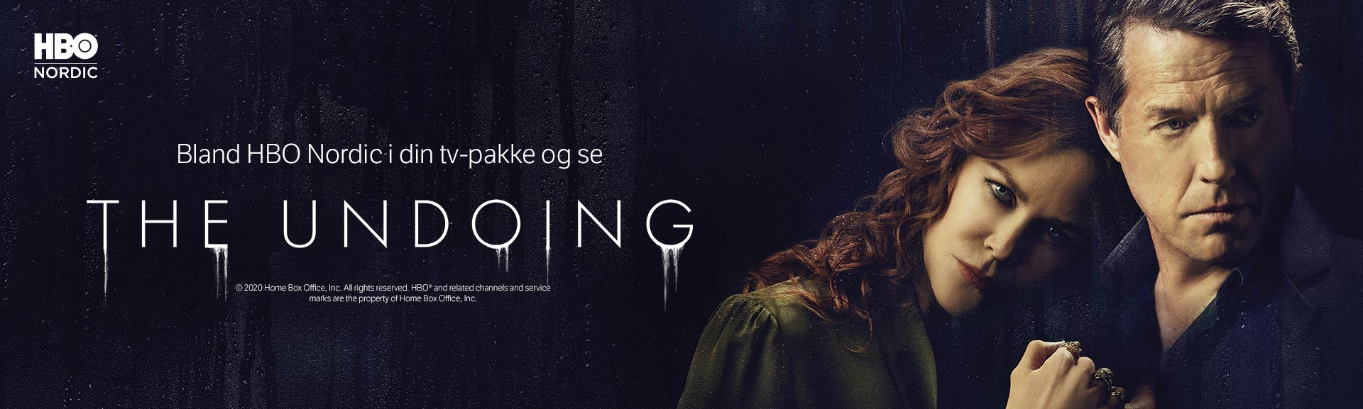 Se The Undoing med HBO Nordic i din tv-pakke