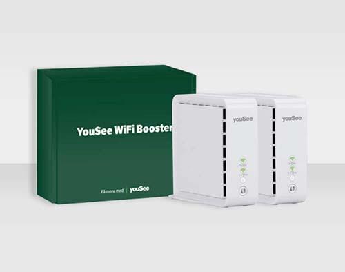 Få bedre internet i hele hjemmet med vores WiFi Booster